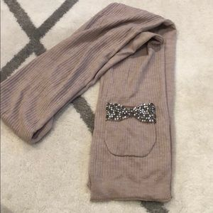 Juicy Couture Tan Long Scarf
